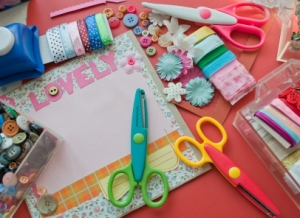 Image of scrapbooking materials