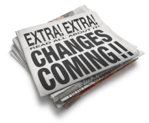 Newspaper changes