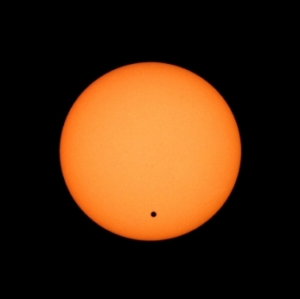 Photo of Venus Transiting the Sun