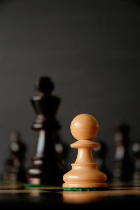 David versus Goliath - chess image